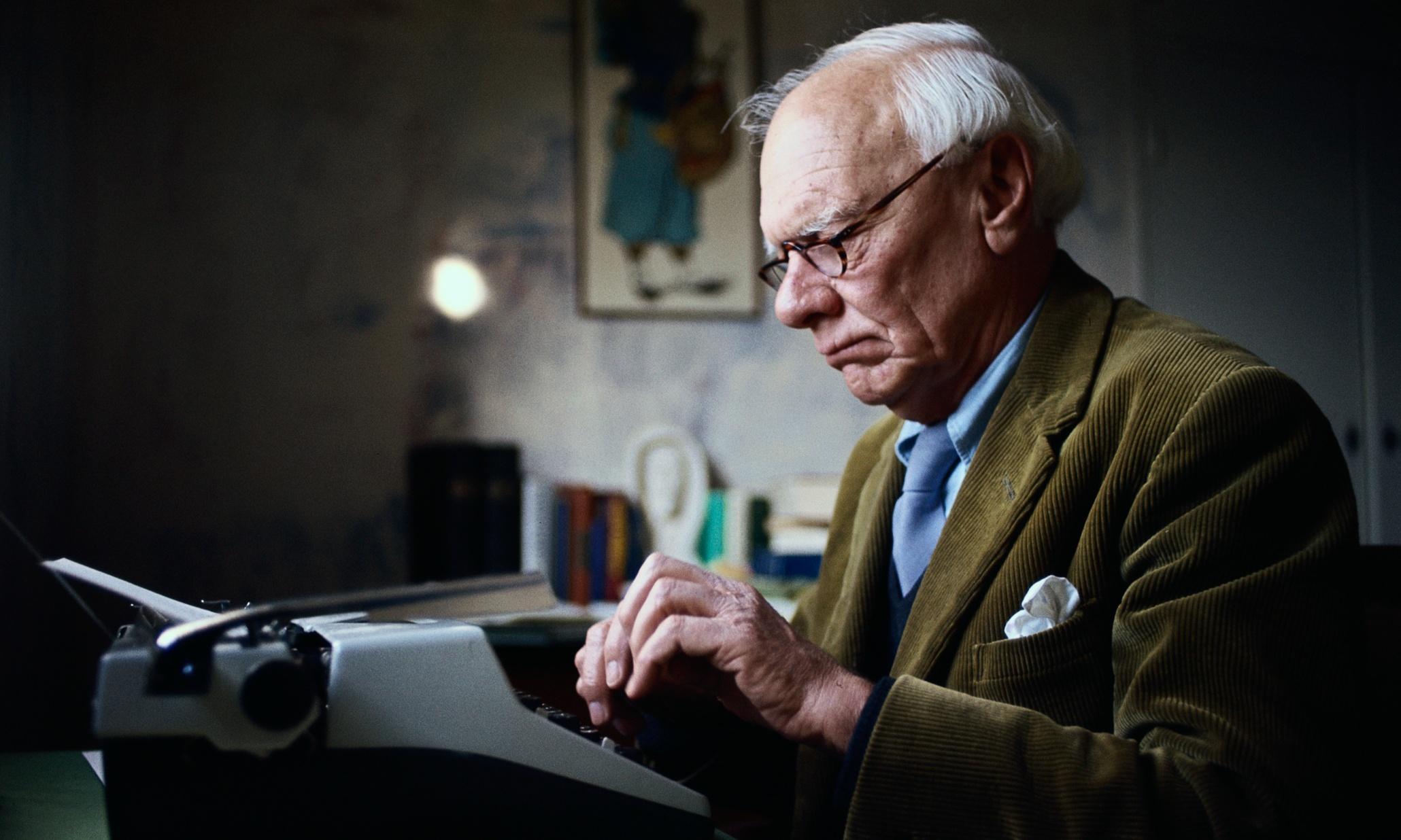 Writer Malcolm Muggeridg