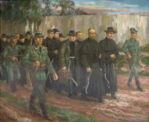 Odvlečení bratří do koncentračního tábora. Rok 1939.