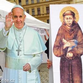 Vyfoť se se sv. Františkem