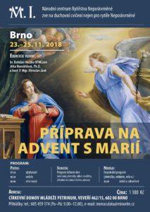 Duchovní obnova: Příprava na advent s Marií